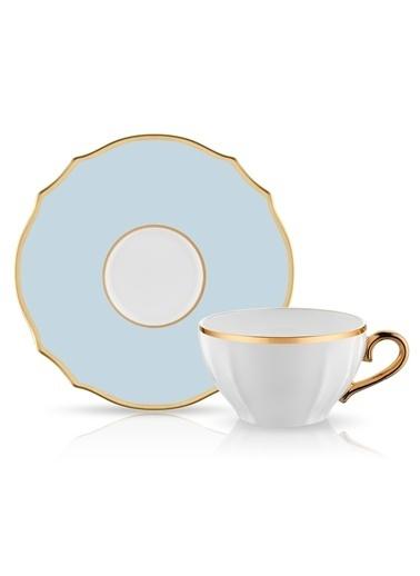 Koleksiyon Poem Çay Fincan Seti 6'lı Mavi Renkli